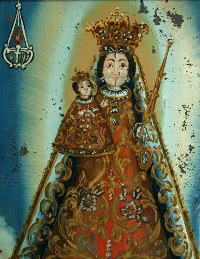 Ein Wallfahrtsbild aus Maria Einsiedeln