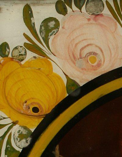 Ein Oberammergauer Hinterglasbild