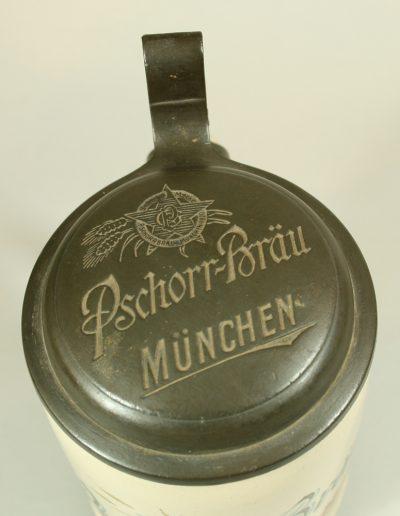 ein alter Münchner Brauereikrug