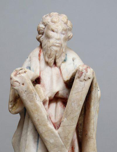 Skulptur, Kleiplastik des Hl. Andreas